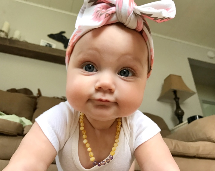 Why we love our amber teething necklaces