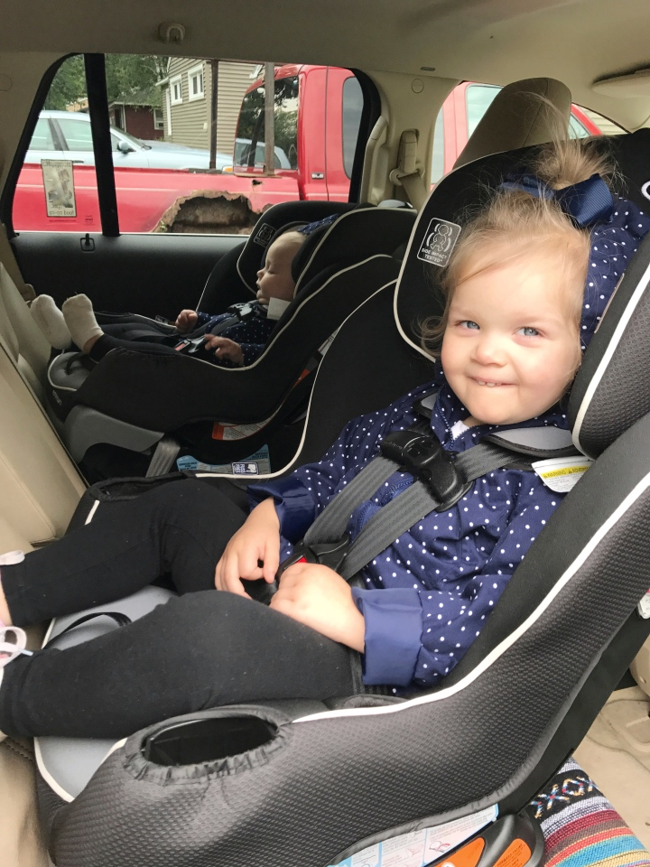 Why I chose the Graco Extend2Fit over the Graco4Ever