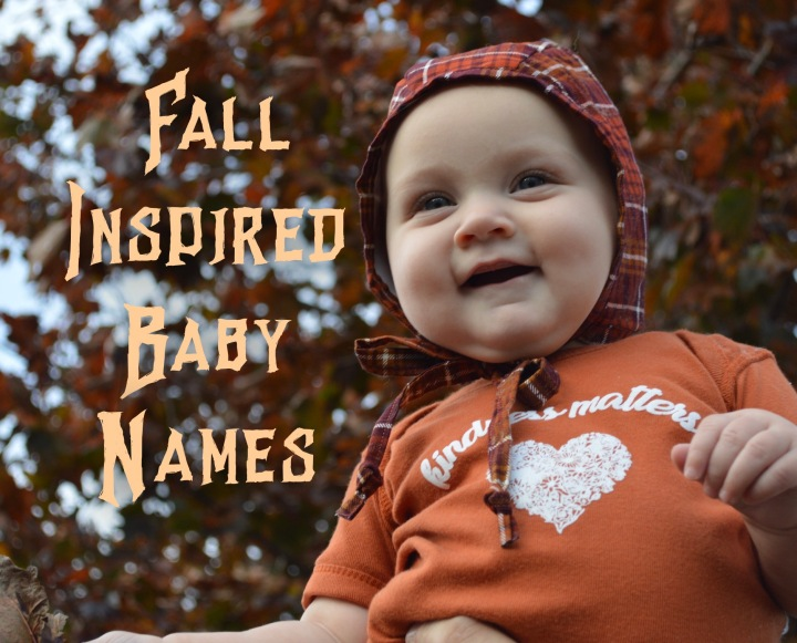 Autumn/Fall inspired baby names