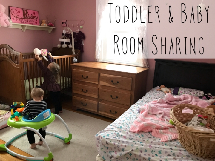 Toddler and baby room sharing