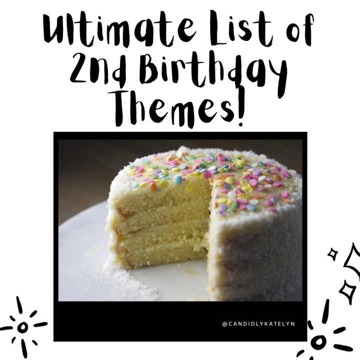 Ultimate List of 2nd Birthday PartyThemes